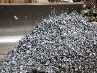 rottami frantumati ilfer terni ferro
