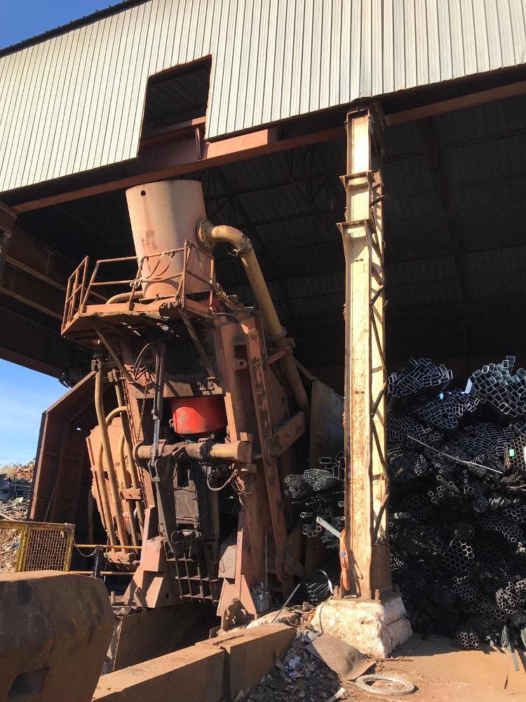 scrap crusher ilfer italy
