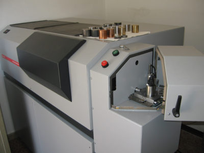 ilfer material analysis machine