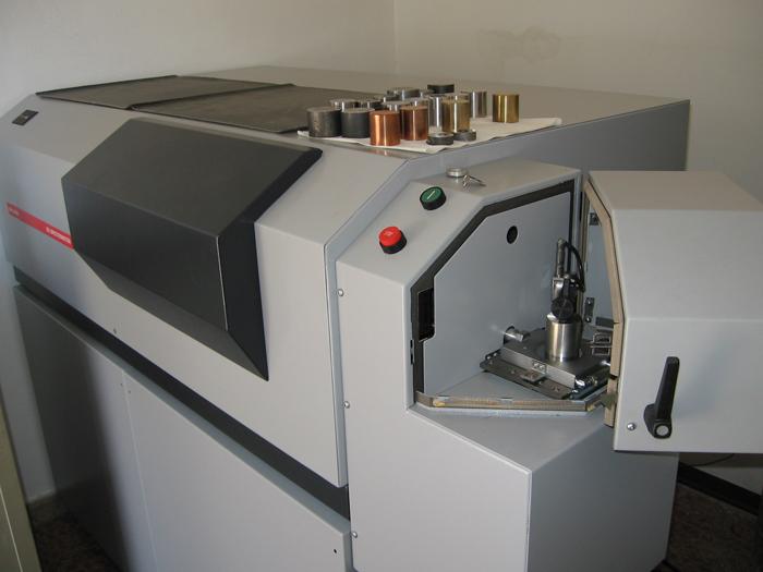 macchina analisi materiali ilfer